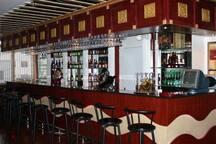 Bar of hotel