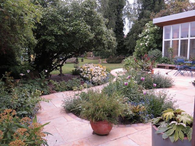 Approach to the Garden Studio