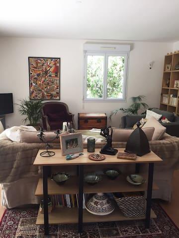 Chambre dans appartement calme et cosy