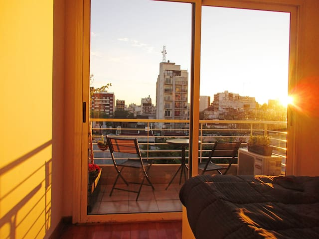 Beautiful apartment with large terrace and balcony