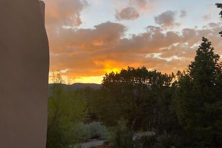 Sandia Sunset just off Turquoise Trail