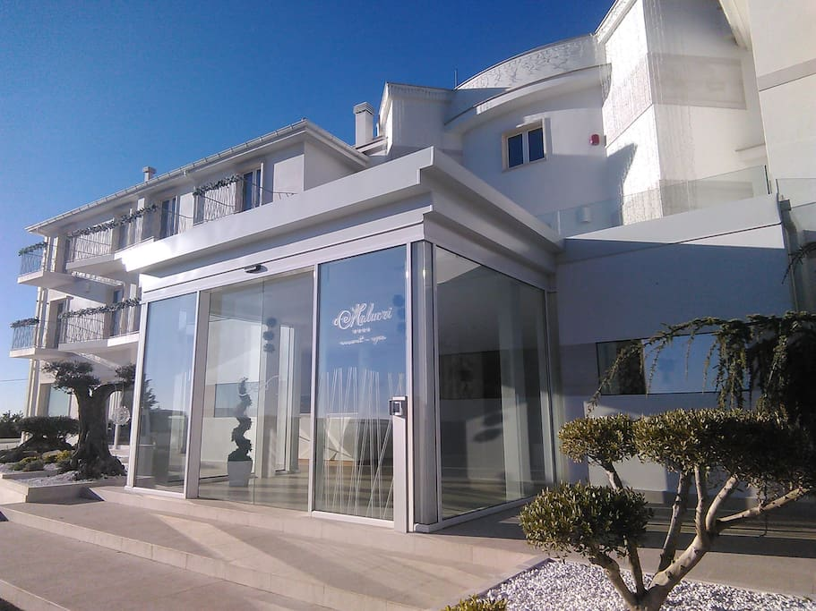 Double room in the wonderful malucri resort boutique for Boutique hotel gargano