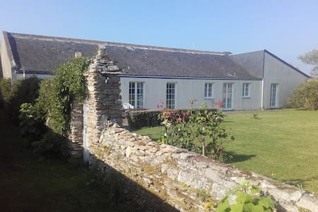 Maison, grand jardin clos, presqu'île, 100m plage - Damgan