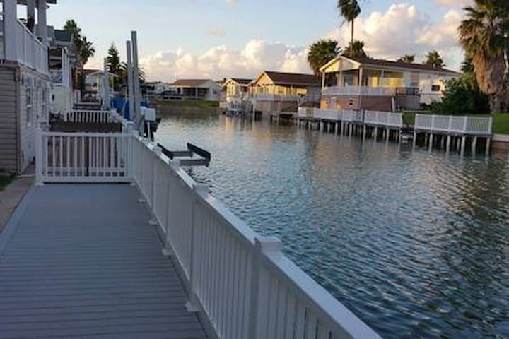 Waterfront Home, Long Island Vill, Port Isabel, TX