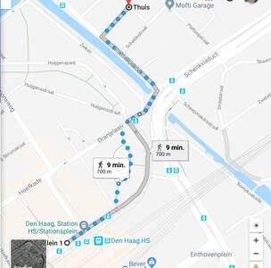 RIVIER BUURT BIJ CENTRUM EN STATIONS vechtstraat