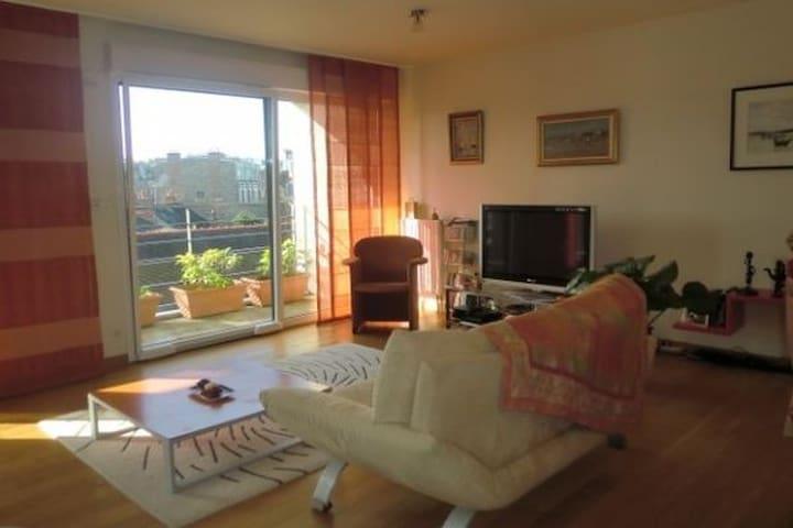 Chambre calme & confortable, salle de bains privée - Rennes - Apartment