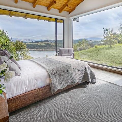Espectacular casa moderna en el Sisga de Naqua