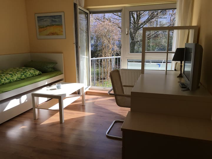 helles All-In-One Appartment in Stadtnähe