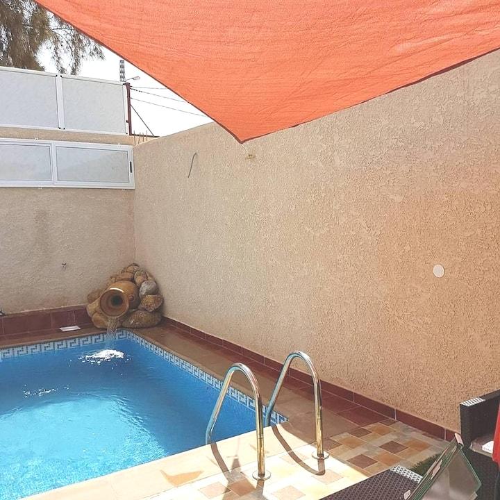 Villa ROSA piscine chauffé  sans vis à vis
