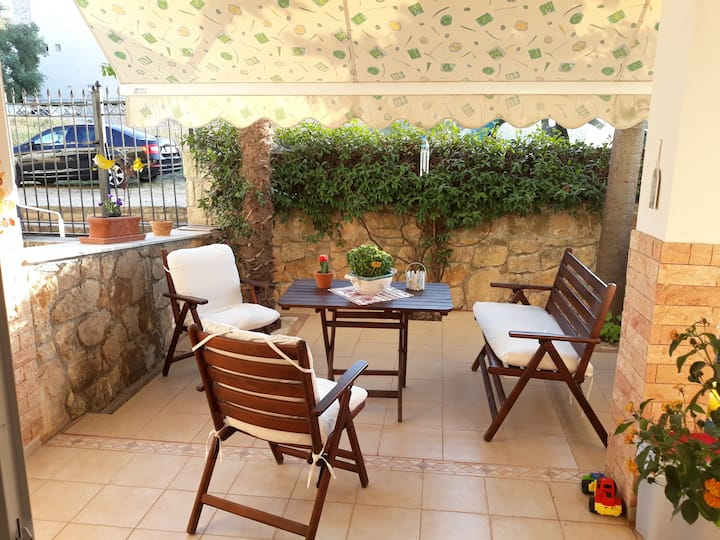 Apartment with pool in Kallithea, Halkidiki