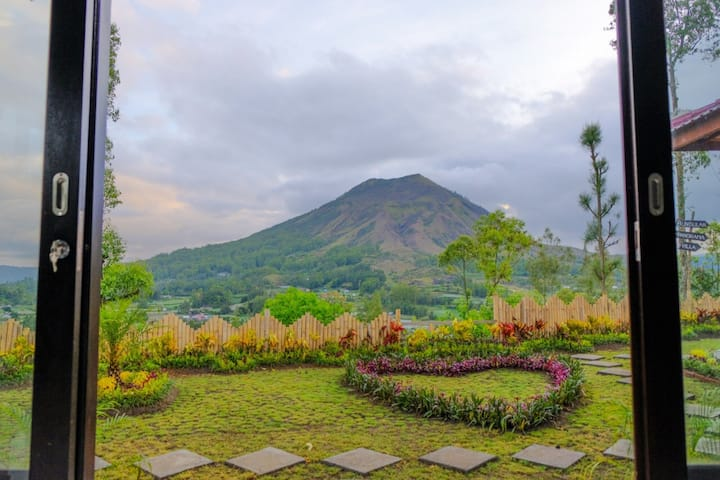Bunbulan nature by volcano view