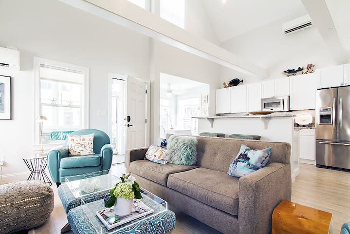 Modern Private Beachside Cape Cod Cottage Rental