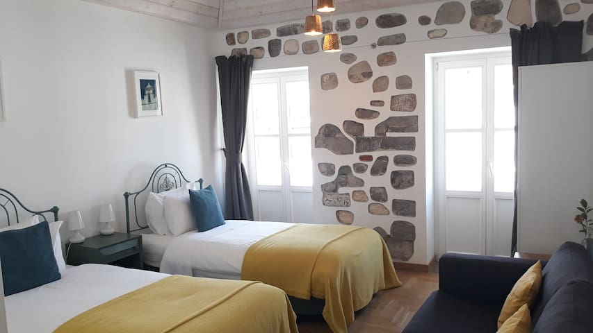 Twin Room - Calçada Guesthouse, Bed & Breakfast