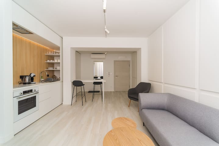 Little cosy apartment with one double bed