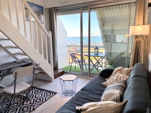 Joli appartement Cocooning – Vue mer 180° ☀️