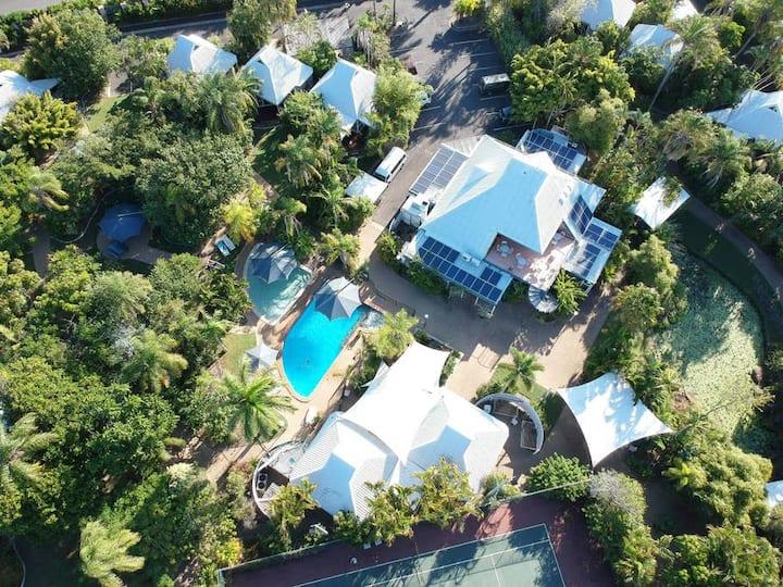 Eco Villa at Kellys Beach Resort 5 Night Rate