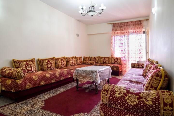 Appartement spacieux au centre - Rabat - Leilighet
