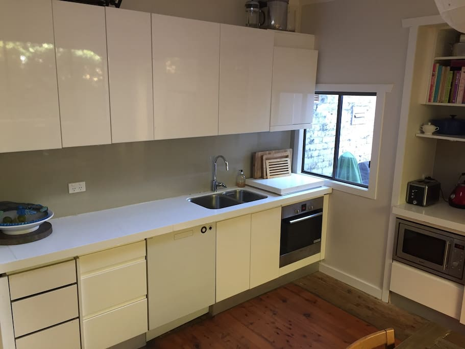 Updated kitchen with lots of amenities