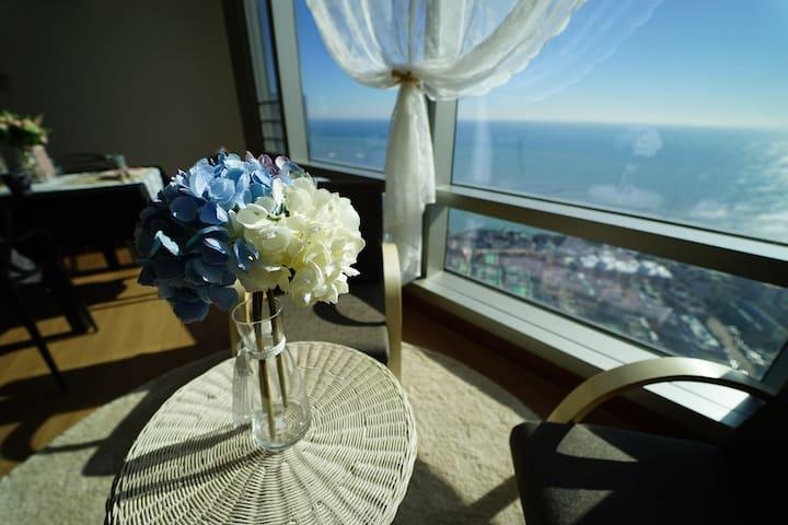 최고급 해운대 오션뷰 초고층 준펜트 Luxury Haeundae Ocean View