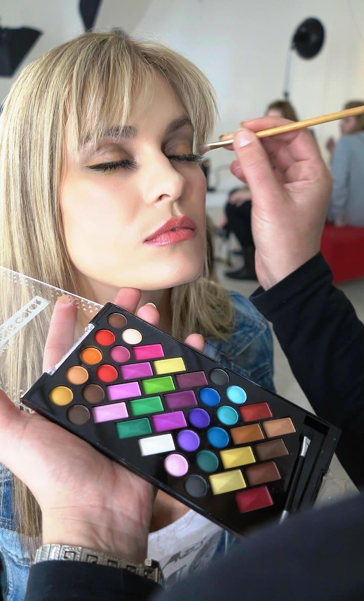 Tips to do make-up.