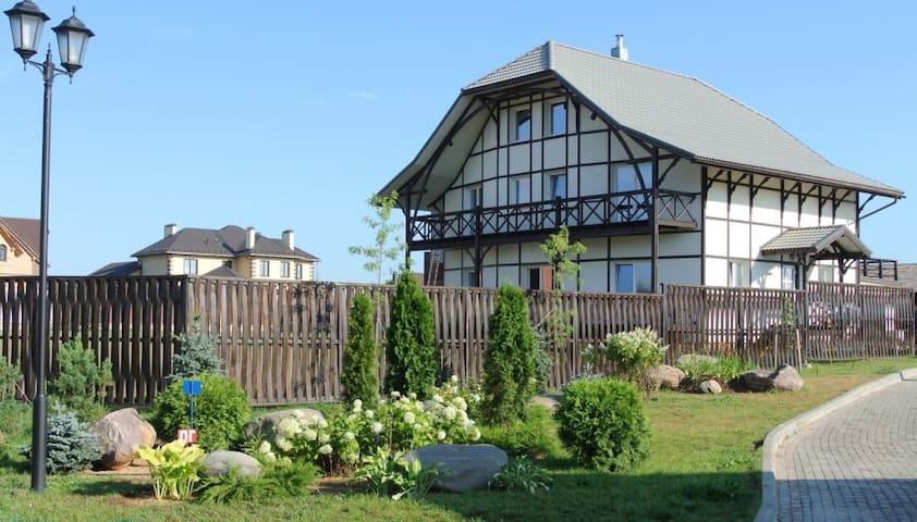 Комфортный дом на берегу водохранилища , - Mytishchinsky District - Casa
