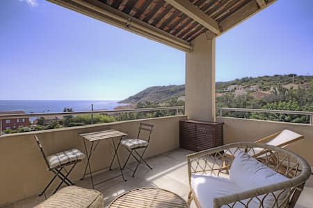 St Tropez Ramatuelle New apt 2/3 pers sea view
