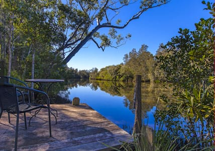 Waterfront Property House on the Creek - 2 acres - Diddillibah - 独立屋