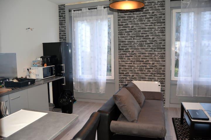 Joli appartement bien équipé - Cherbourg-Octeville - Apartemen
