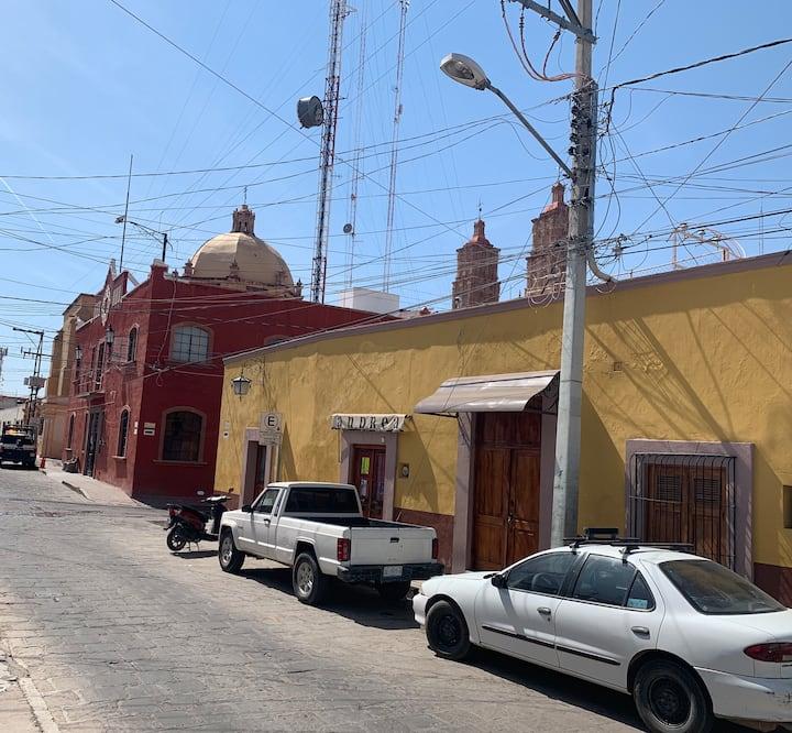 El Rincón de Aurora, Centro Histórico