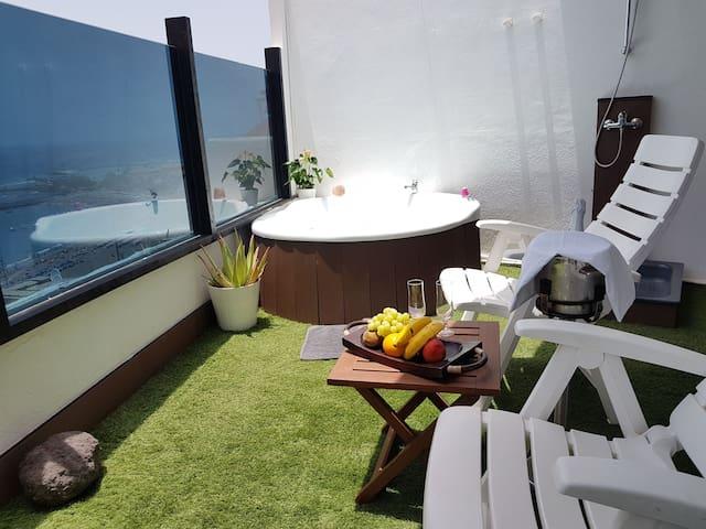 Ático - Jacuzzi- sauna. RELAX