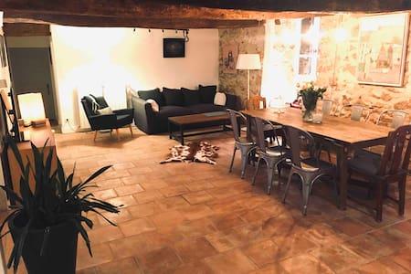 La maison des vendangeurs, un havre de fraîcheur