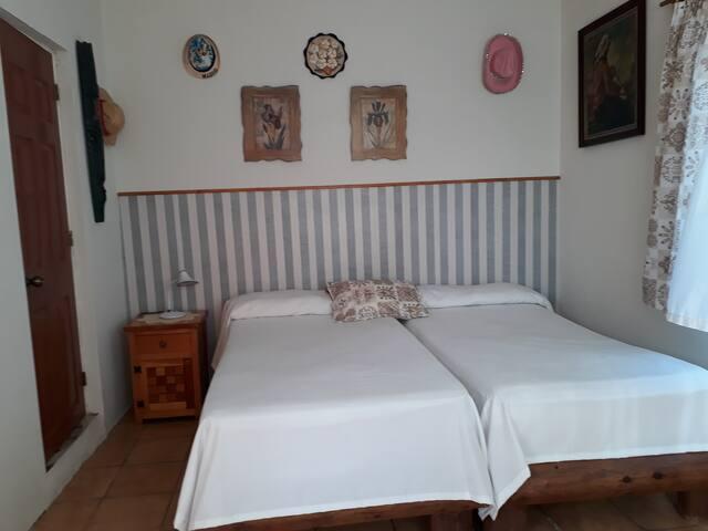 Bonita habitacion doble en el paraiso de Cozumel