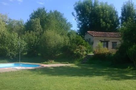 Gîte rural avec piscine 4/6 personnes - Carla-Bayle - Rumah tumpangan alam semula jadi