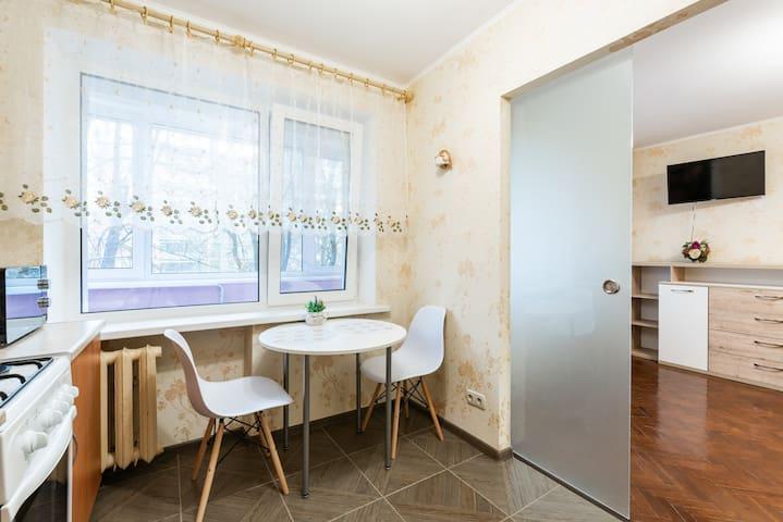 Квартира с новым ремонтом в центре Минска