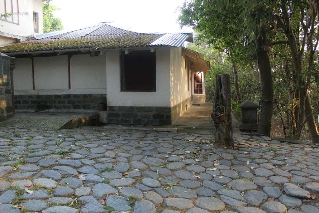 Exterior view of the cottage