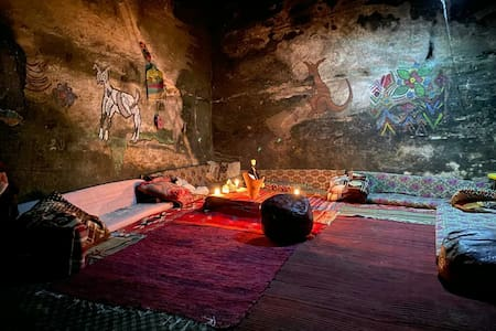 Authentic Bedouin Cave  Little Petra