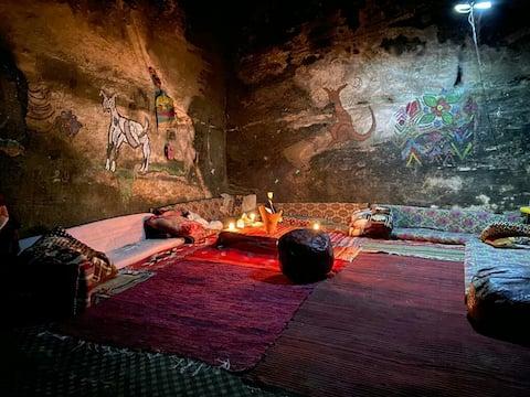 Authentic Bedouin Cave  Little Petra