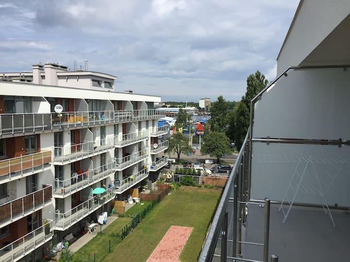 Apartament Widokowy w Kołobrzegu