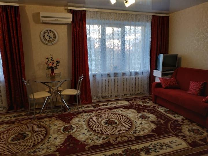 Светлая и теплая  квартира  в  центре Бородинского