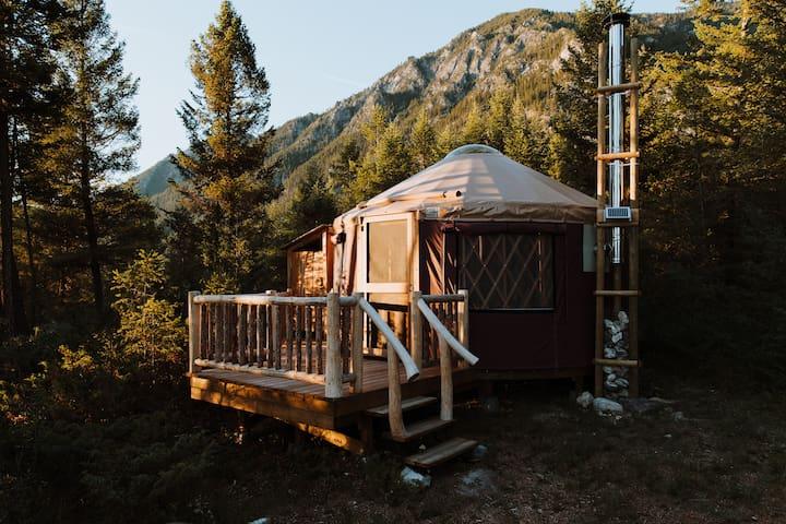 Hike In Yurts @ Radius - THE PERCH