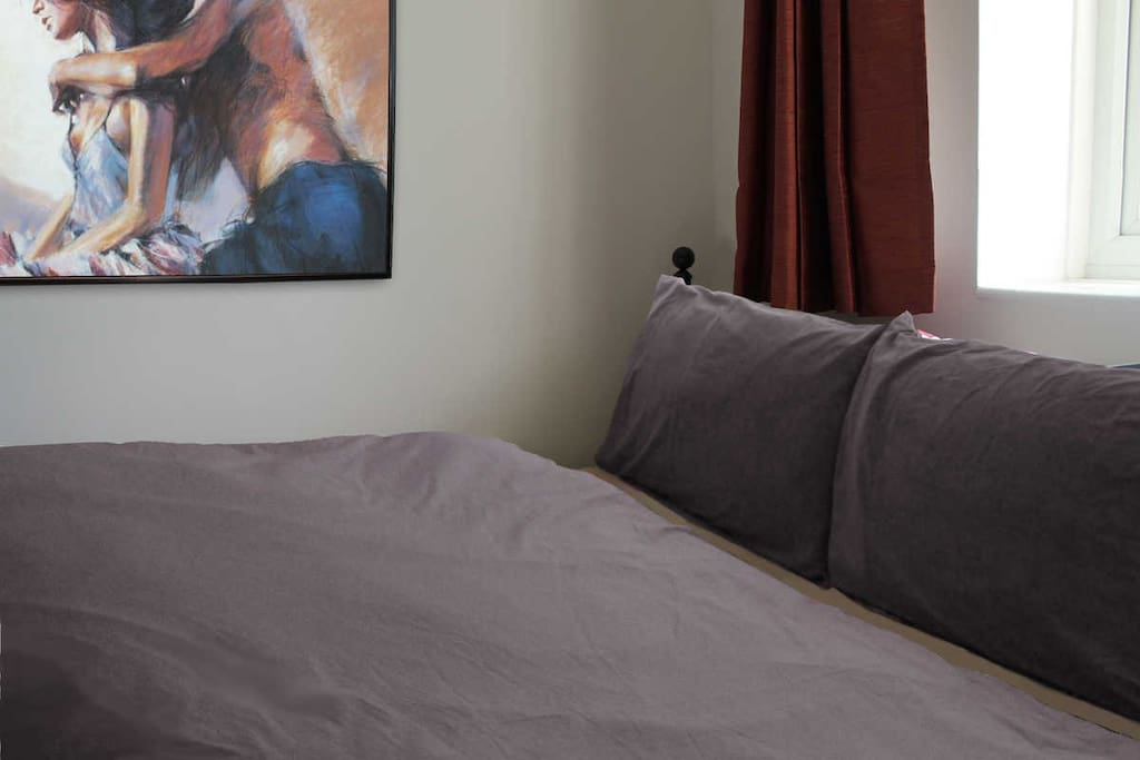 Sleep well in our comfortable double bed
