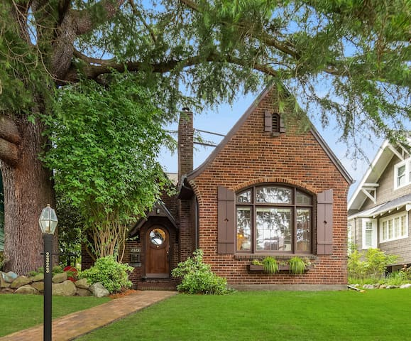 Pile of Bricks - English Tudor in West Seattle