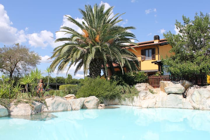 Apartment + pool Maremma Toscana