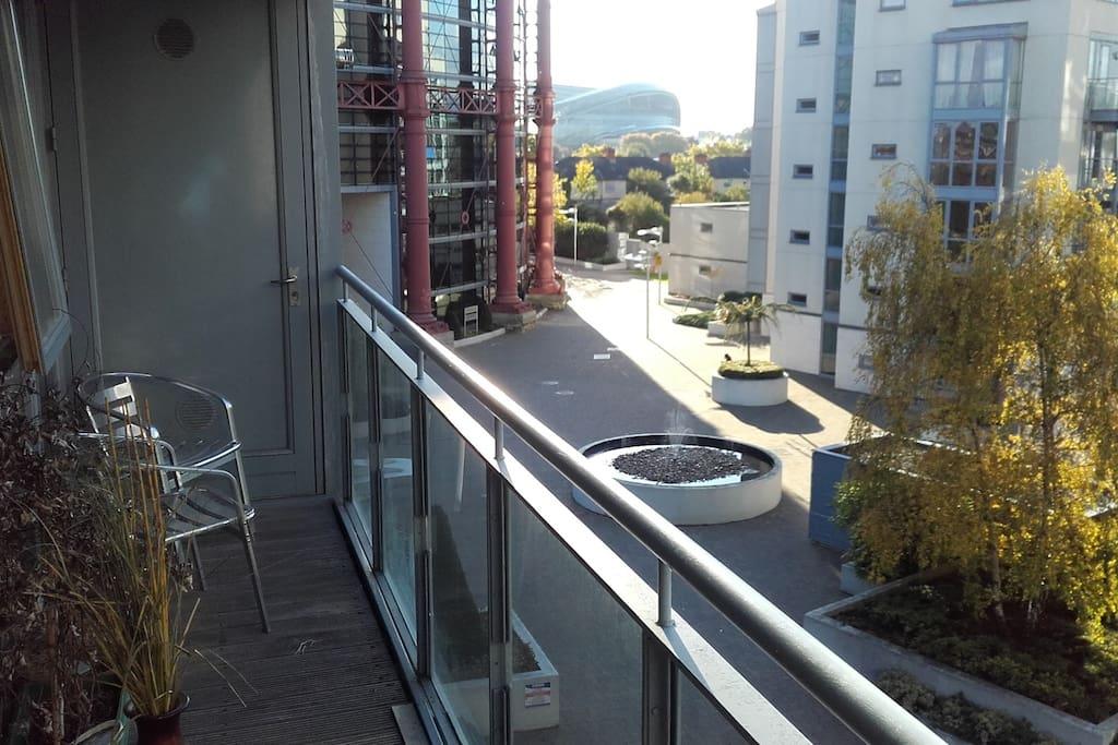 Pleasant balcony