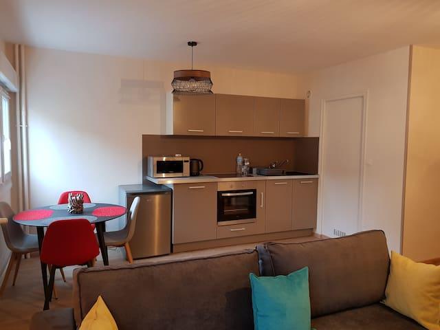 Appartement reneuvé et moderne au hyper centre