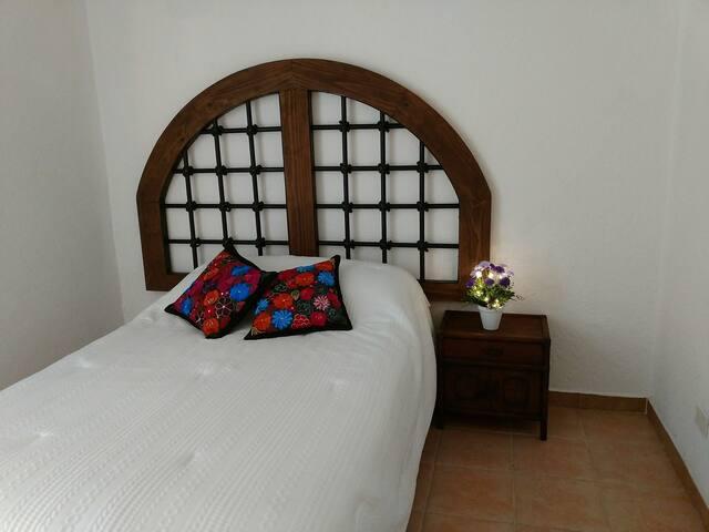 3a. Habitación  (cama matrimonial)