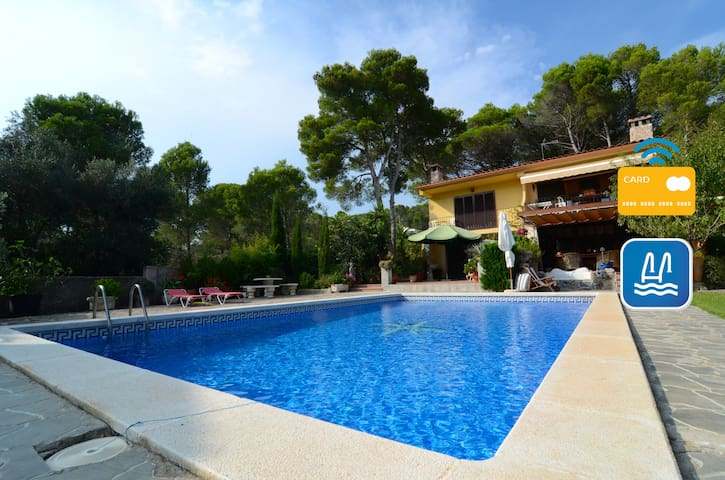 Quiet apartment for6 in the woods with shared pool - L'Estartit - Wohnung