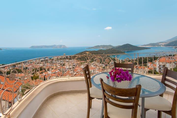 Best Apart Kaş / Pool, Balconies, Magnificent View