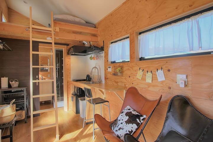 Tiny House Overlooking Mt. Fuji w/Bunk bed - SIMON