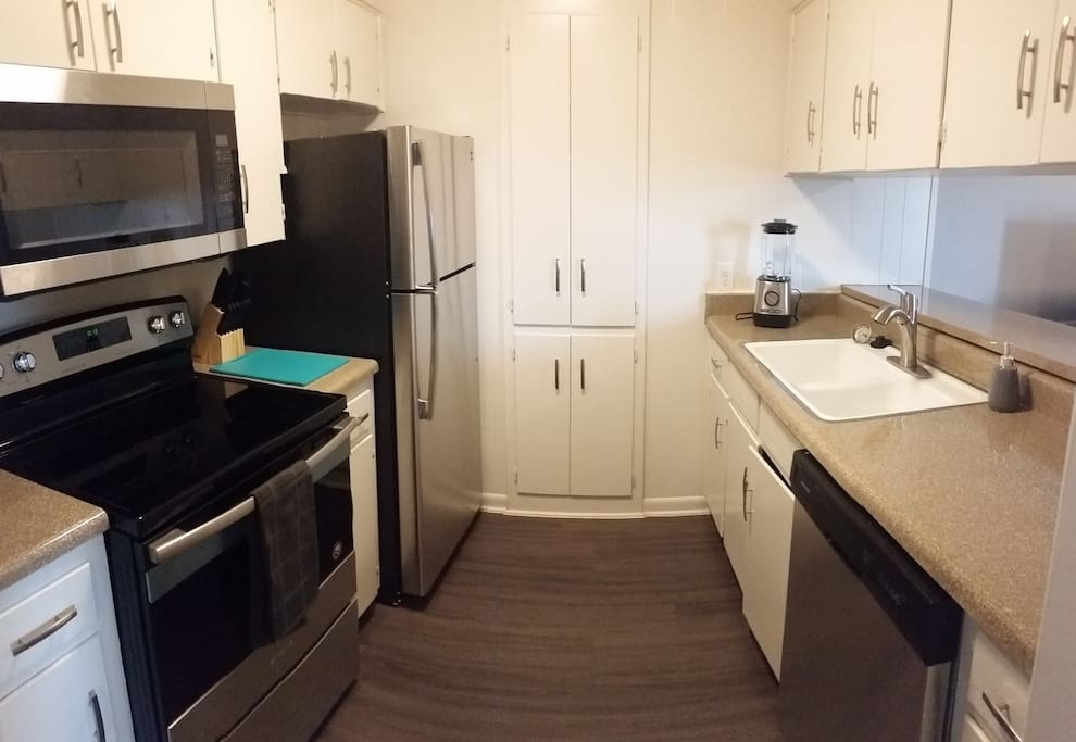 New Stainless Steal Appliances